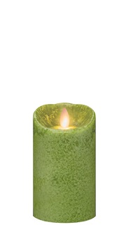 "Mirage Flameless Candle - Battery Operated 5"" x 3"" Fern"
