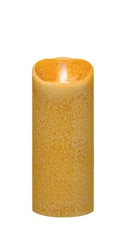 "Mirage Flameless Candle - Battery Operated 7"" x 3"" Spice"