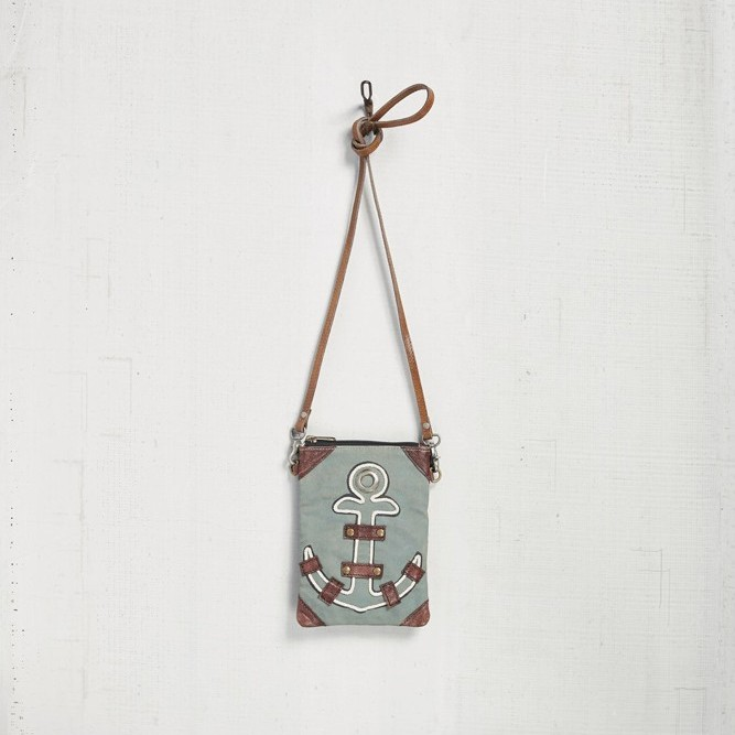 "Mona B Crossbody - ""Anchored"""