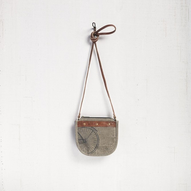 "Mona B Saddle Crossbody - ""Pendalton"""