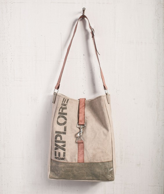 "Mona B Shoulder Bag - ""Explore"""