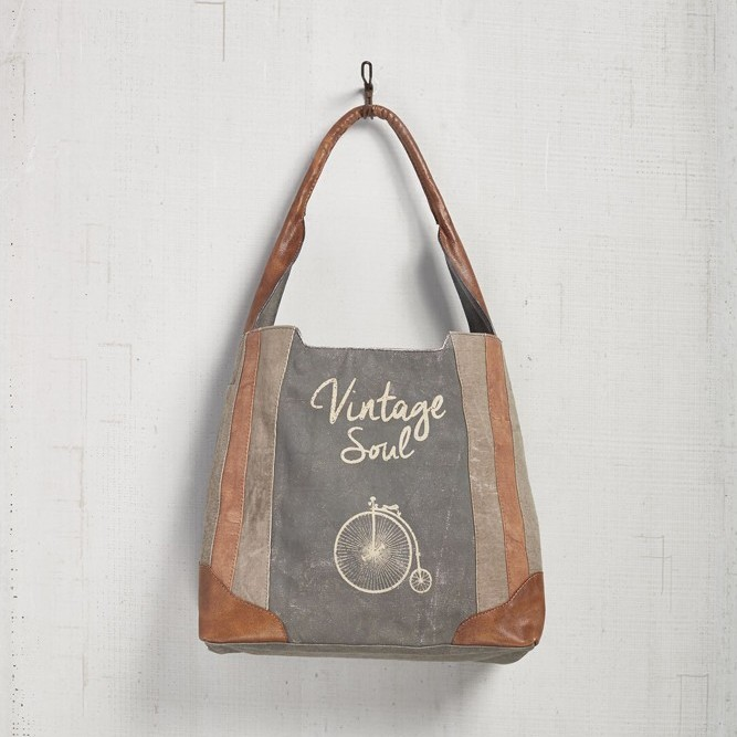 "Mona B Shoulder Bag - ""Vintage Soul"""
