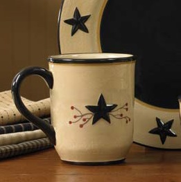 Park Designs Star Vine Mug - 4.5in