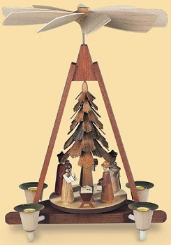 "Muller - ""Nativity Scene Pyramid"""