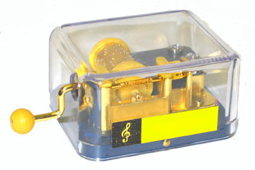 "Music Box - ""Hand Crank Music Box - Happy Birthday"""