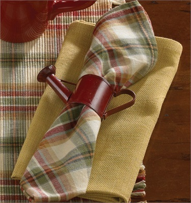 Park Designs Napkin - Lemon Pepper - 18in x 18in