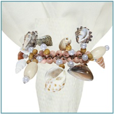 "Napkin Ring - ""Seashell Napkin Ring"""