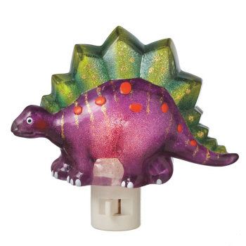 "Night Light - ""Dinosaur Night Light"" - Purple"