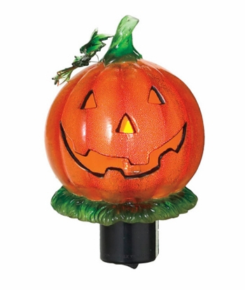 "Night Light  - ""Jack O'Lantern Flicker Night Light """