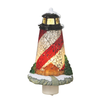 "Night Light - ""Mosaic Lighthouse Night Light"""
