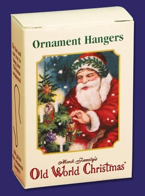 "Old World Christmas Acc - ""Green Ornament Hangers"" - Box of 100"