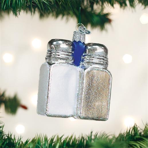 Old World Christmas Glass Ornament - Salt and Pepper Shakers