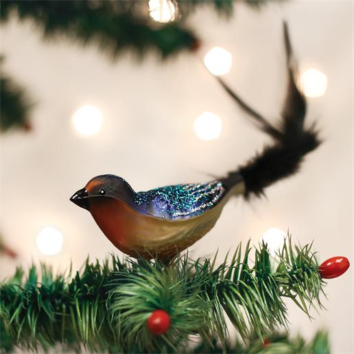 "Old World Christmas Glass Ornament - ""Barn Swallow"""