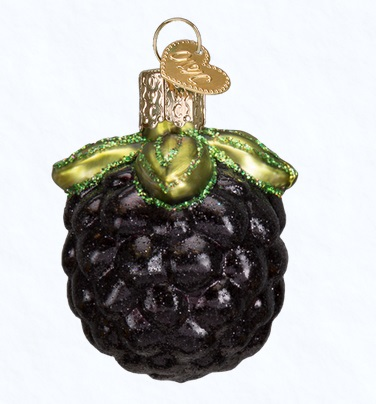 "Old World Christmas Glass Ornament - ""Blackberry"""