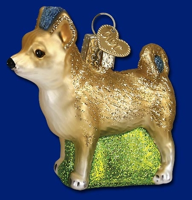 "Old World Christmas Glass Ornament - ""Chihuahua"""
