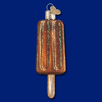 "Old World Christmas Glass Ornament - ""Chocolate Pop"""