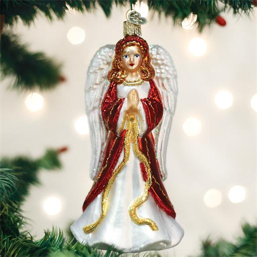 Old World Christmas Glass Ornament - Divinity