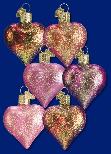 "Old World Christmas Glass Ornament - ""Heart"""