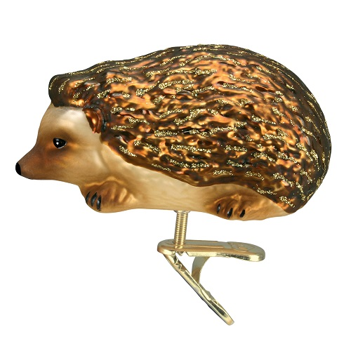 "Old World Christmas Glass Ornament - ""Hedgehog"""