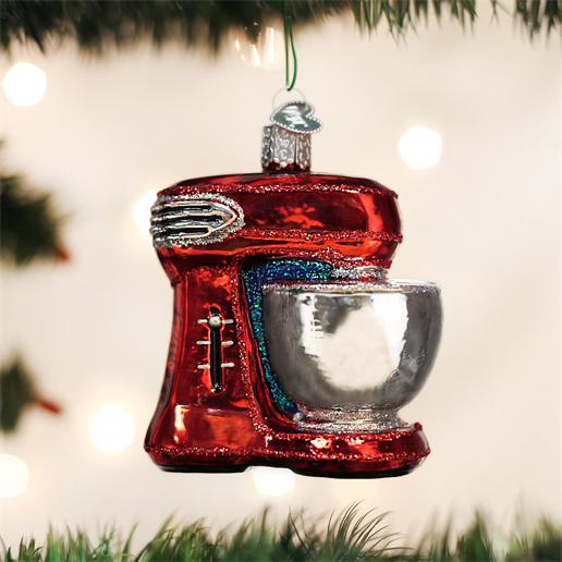 "Old World Christmas Glass Ornament - ""Mixer"""