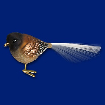 "Old World Christmas Glass Ornament - ""Oregon Junco"""