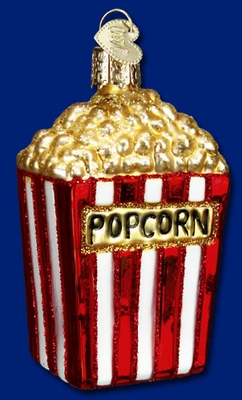 "Old World Christmas Glass Ornament  - ""Popcorn"""