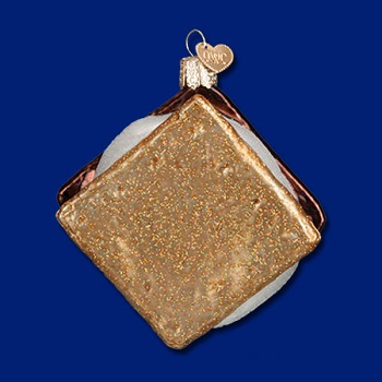 "Old World Christmas Glass Ornament - ""Smore"""