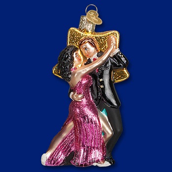 "Old World Christmas Glass Ornament - ""Star Dancers"""