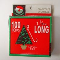 Ornament Hooks - Small Ornament Hooks - Box of 100