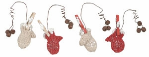 """Ornament - """"Out To Dry Mittens Ornaments"""""""