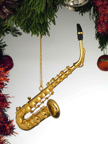 Music Instrument Ornament - Saxophone Ornament