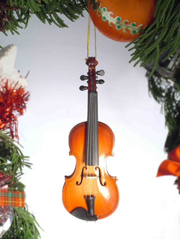 Musical Instrument Christmas Tree Ornaments And More