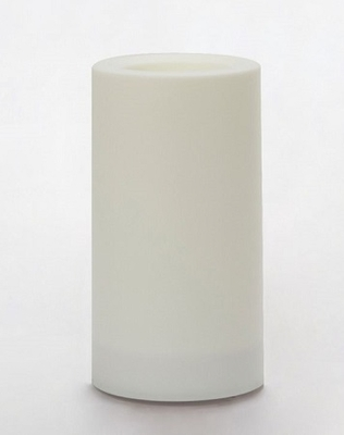 Outdoor Flameless Pillar Candle - Color Changing - 5in x 3in