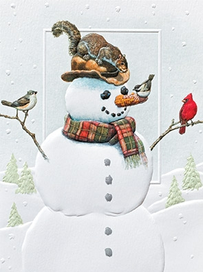 """Petite Boxed Christmas Cards - """"Dinner With Friends"""""""