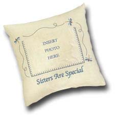 "Picture Pillow - ""Sisters Are Special"""