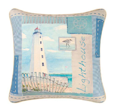 "Pillow - ""Lighthouse Pillow"""