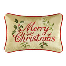 "Pillow - ""Merry Christmas� Pillow"""
