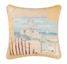 "Pillow - ""Seaside Canvas Pillow"""