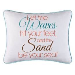 "Pillow - ""Waves And Sand Pillow"""