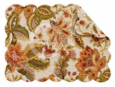 "Placemat - ""Amelia Reversible Quilted Placemat"""