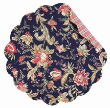 """Placemat - """"Blakeley  Reversible Quilted Placemat"""""""