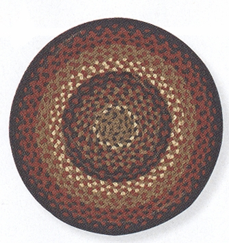 "Placemat - ""Folk Art Placemat"" - Round"