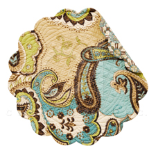 "Placemat - ""Kasbah Reversible Quilted Placemat"""
