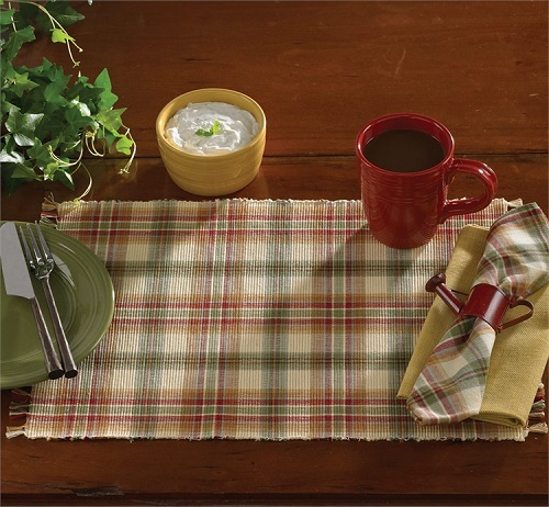 Park Designs Placemat - Lemon Pepper - 13in x 19in