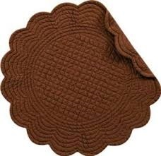 "Placemat - ""Quilted Bark Placemat"""