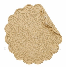"Placemat - ""Quilted Camel Placemat"""