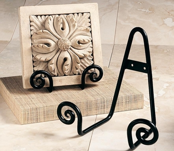 Plate Holder - Scroll Design - 5.5 Inch