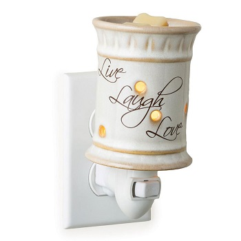 "Plug in Fragrance Warmer - ""Live, Laugh, Love Plug In"""