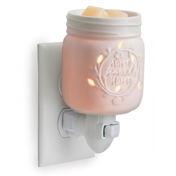 "Plug in Fragrance Warmer - ""Mason Jar Plug In"""