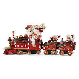 "Possible Dreams Santa - ""All Aboard"" - Set of 3"